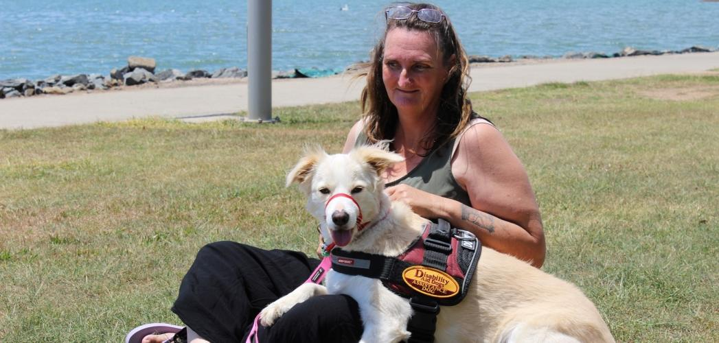 PTSD Assistance dog gives greater independence for Kylie