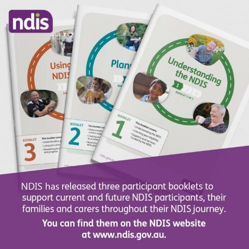 NDIS new participant booklets
