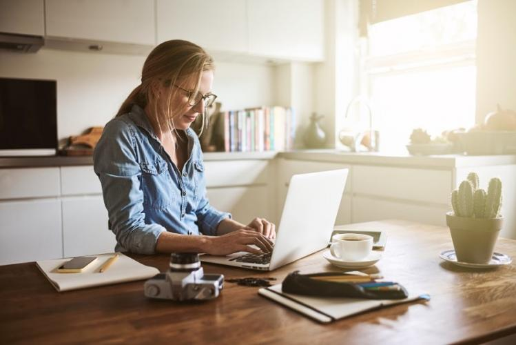 Working from home – tips for a creative workspace